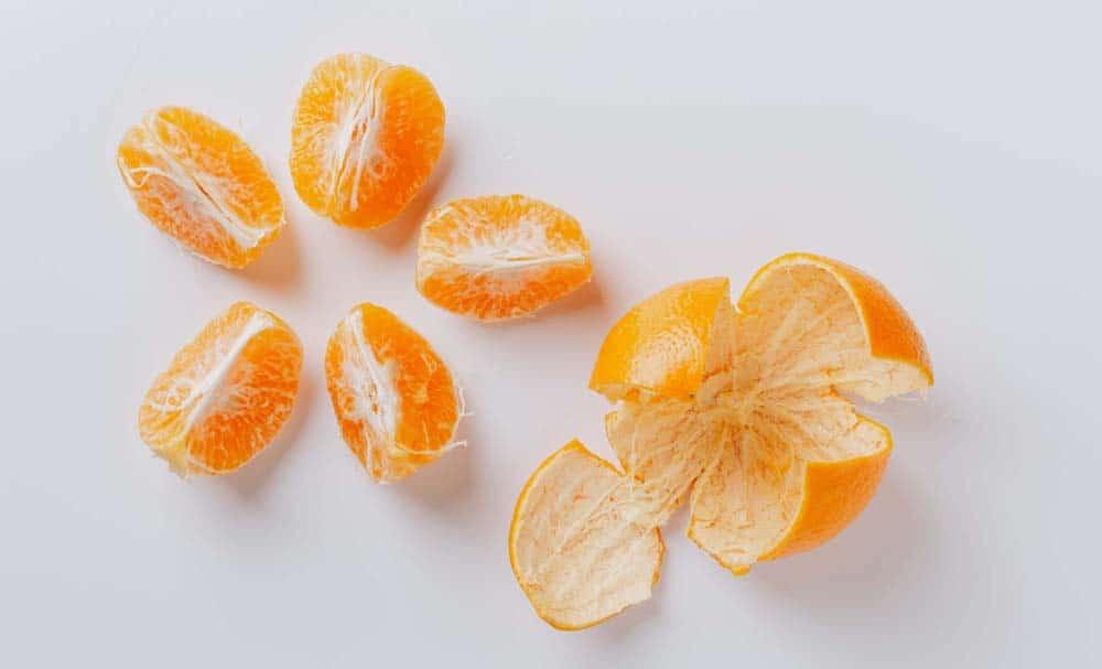 Orange Peel For Skin